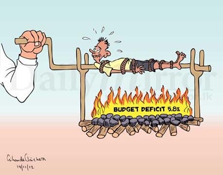 Image result for deficit budget 11 sep cartoon